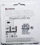 Kingston (SDHC) 16Gb class 4